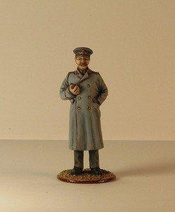 Fabrika Masterov Иосиф Сталин. Оловянная миниатюра в росписи. 54 мм - фото 1