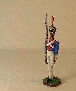 Fabrika Masterov Стойкий оловянный солдатик. Оловянная миниатюра. 45 мм - фото 2