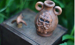 Fabrika Masterov Масло для бороды в керамической амфоре и в деревянной - фото 1