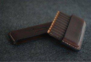 Fabrika Masterov Аскетичный кожаный портсигар - фото 2