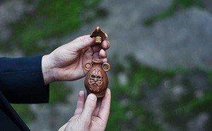 Fabrika Masterov Масло для бороды в керамической амфоре и в деревянной - фото 5