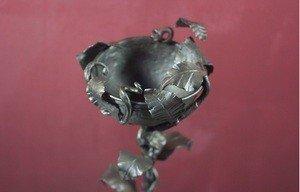 Fabrika Masterov Кованый кубок с листьями - фото 1