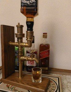 "Fabrika Masterov подарок для мужчин ""Диспенсер напитков"" в стиле лофт - фото 3"