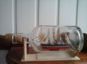 Fabrika Masterov Корабль в бутылке Крузенштерн - фото 2