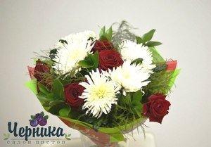 Магазин цветов Черника Букет Бархатный - фото 1