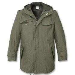 М-65 Куртка-парка армии Бундесвер олива с подстежкой - фото 1