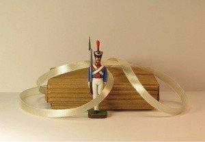 Fabrika Masterov Стойкий оловянный солдатик. Оловянная миниатюра. 45 мм - фото 3