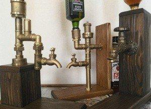 "Fabrika Masterov подарок для мужчин ""Диспенсер напитков"" в стиле лофт - фото 5"