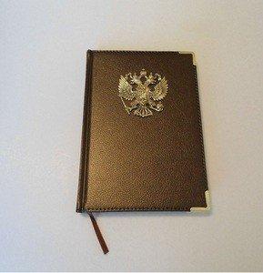 Fabrika Masterov Ежедневник делового человека с художественным литьем - фото 4