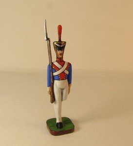 Fabrika Masterov Стойкий оловянный солдатик. Оловянная миниатюра. 45 мм - фото 5