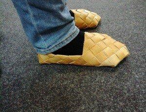 Fabrika Masterov Лапти из бересты. Обувь из бересты - фото 2