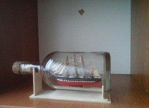 Fabrika Masterov Корабль в бутылке Крузенштерн - фото 5