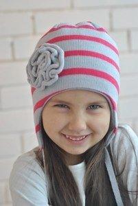 Jumbi Зимняя шапка с узором с завязками - фото 1