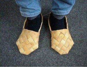 Fabrika Masterov Лапти из бересты. Обувь из бересты - фото 3