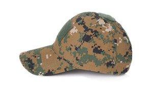 М-65 Бейсболка тактическая камуфляжная - фото 5