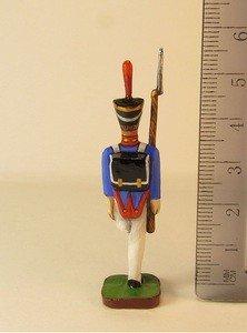 Fabrika Masterov Стойкий оловянный солдатик. Оловянная миниатюра. 45 мм - фото 4