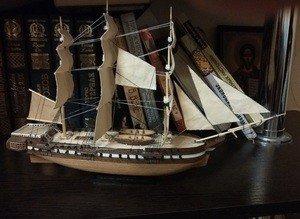 Fabrika Masterov Корабль фрегат Паллада - фото 3