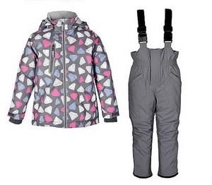 Crockid Комплект мембранный зимний для девочки Crockid ВК 20032/н2 (полукомбинезон и куртка) - фото 2