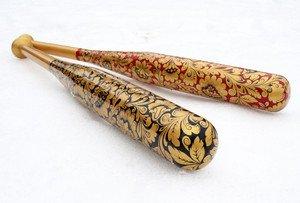 Fabrika Masterov Бейсбольная бита с ручной росписью - фото 5