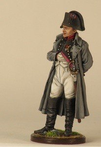Fabrika Masterov Наполеон Бонапарт. Оловянная миниатюра. Роспись. 54 мм - фото 2