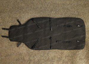 Fabrika Masterov Меховые накидки на сиденья авто «Овчинная мозаика» (2 шт.), черные - фото 4