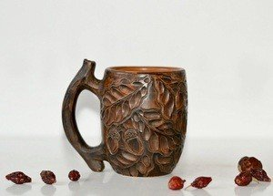 Fabrika Masterov Новая кофейная чашка ручной работы Дубы-колдуны - фото 1