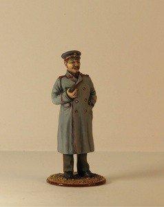 Fabrika Masterov Иосиф Сталин. Оловянная миниатюра в росписи. 54 мм - фото 4