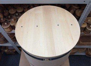 Fabrika Masterov Кадка Бочка деревянная 100 литров. Бочка для воды бани - фото 2