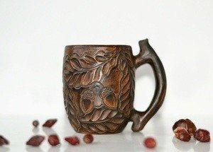 Fabrika Masterov Новая кофейная чашка ручной работы Дубы-колдуны - фото 5