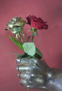 Fabrika Masterov Роза золотого цвета кованая - фото 3