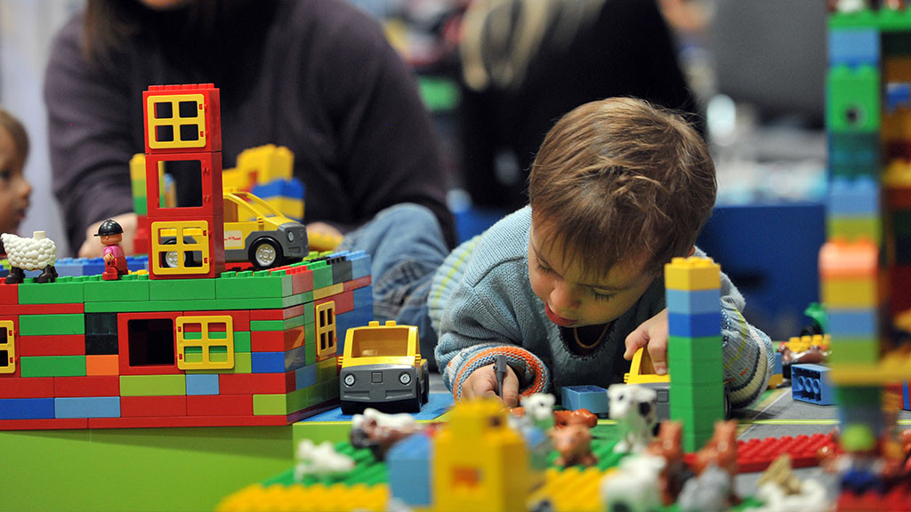 LEGO-конструирование для детей